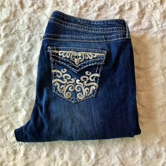 torrid Denim - Torrid Premium Dark Wash Relaxed Boot Jeans 20